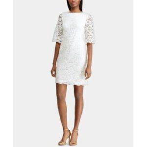 New Ralph Lauren Lace Sheath Dress